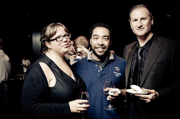 far right: David DeVries (Dr. Dillamond)