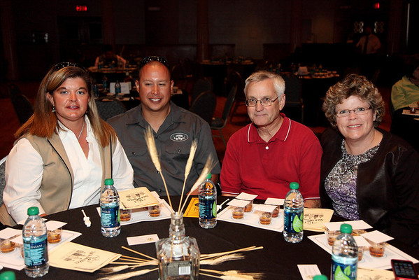 (L to R) Jennifer White, Mike Murray, Loren Crandall, Cathy Crandall