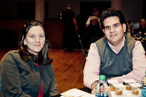 (L to R) Lara Khayatt, Ahmab Aljarrah