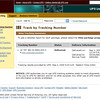 2005 TPC Hat UPS Tracking 090105