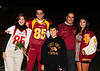 TP Football Senior Night, 09 : Some Cheer to start, then trainers, then football
