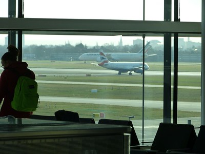 Heathrow Terminal 2 (airside)