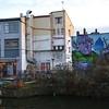Kingsland basin + Canalside Studios, Regents Canal, Hackney - 04