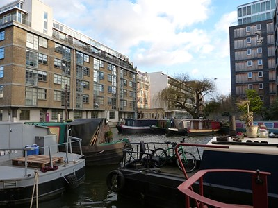 Regents Canal - Hackney - Alex + Jen recce