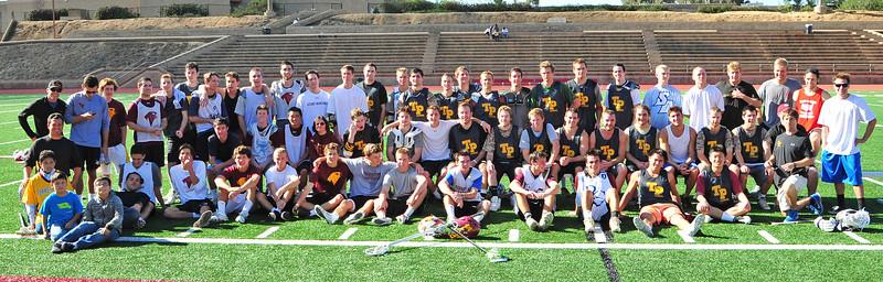 alumni game team photo