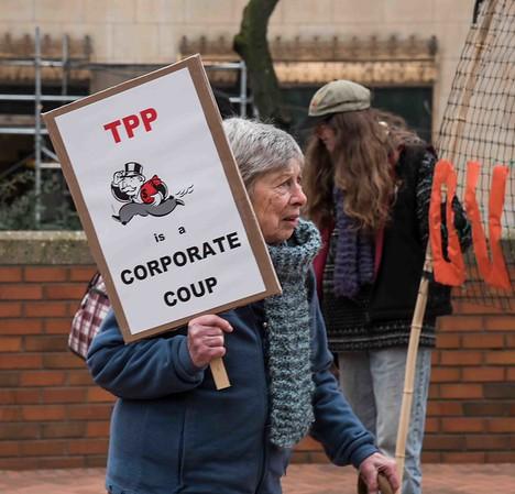 TPP Rally   Jan. 7, 2016