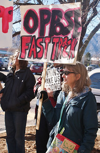 TPP protest Boulder, Co (1/14) 3