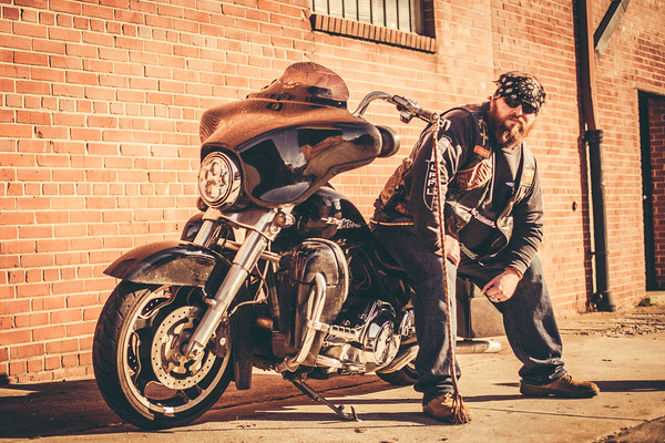 Clay Motorcycle Photoshoot