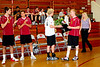 Volleyball Senior Night, 5-3-11 :