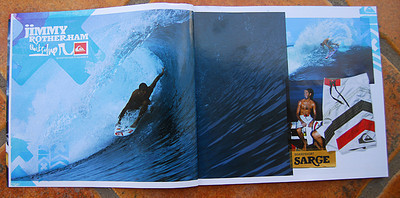 QUIKSILVER: JIMMY ROTHERHAM, INDO. TWO PG SPREAD