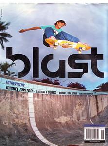COVER; BLAST SKATE MAG, BERNHARD GRUENENBERG, COSTA RICA