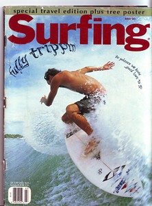 COVER; SURFING- DAN KENNEDY, COSTA RICA