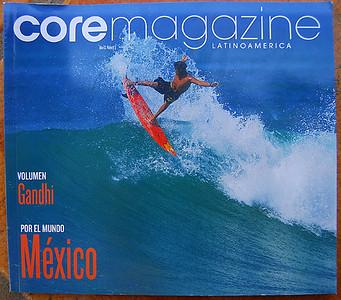 CORE MAGAZINE COVER: JUAN CARLOS RAMOS