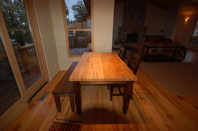 Table made by Dave Schiller