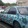 carwithart - again failed to think about including all of car in frame.