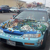 CarWithArt - frys parking lot - at least the entire car is in the frame.