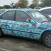 CarWithart - failed to include entire car in frame.