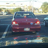 Obama2012 - Watch the bumper sticker.  In this case the trunk sticker!