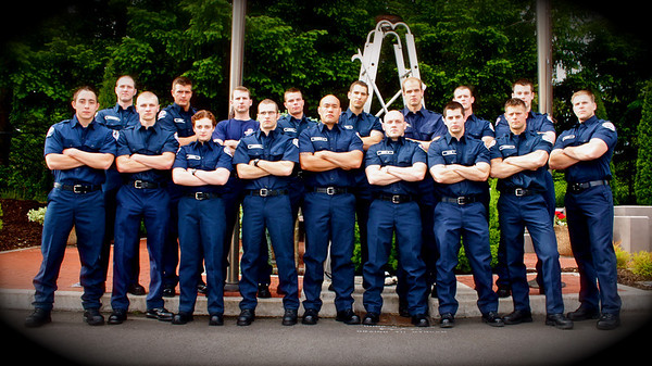 Graham and Orting Fire Rescue Graduation