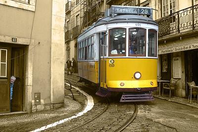 Tram 28 (1)  -  Lisbon  -  Portugal