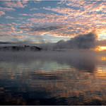 "Print title : "" ALGONQUIN SUNRISE  "" *  File #5736"