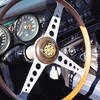 I love these wooden steering wheels.