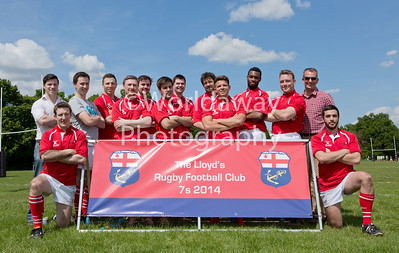 Lloyd's Rugby 7's Tournament. Richmond Athletic Ground. 15th May 2014. Team: Asta RPC