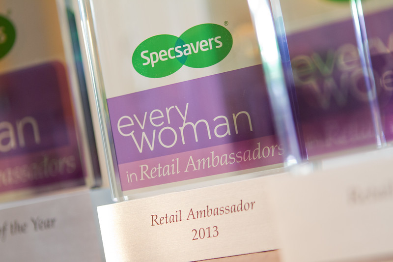 2013 Specsavers everywoman in Retail Ambassadors. The Waldorf Hilton, London. 26th September 2013