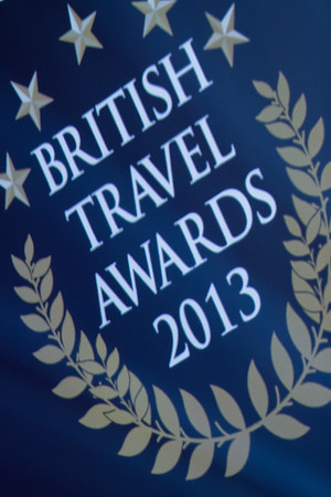 British Travel Awards. 31st October 2013. Battersea Evolution.