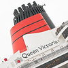 Cunard Queen Victoria. 29th November 2013. Southampton. Princes Trust Thanks a Million.