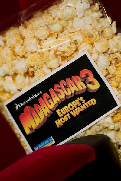 Royal Caribbean International Madagascar 3 Screening, Empire Leicester Square, 7th October 2012,