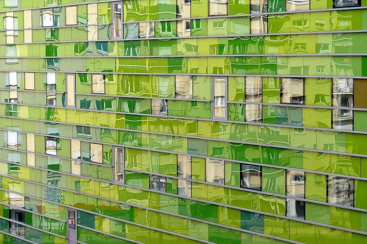 Green Building. Perpignan.