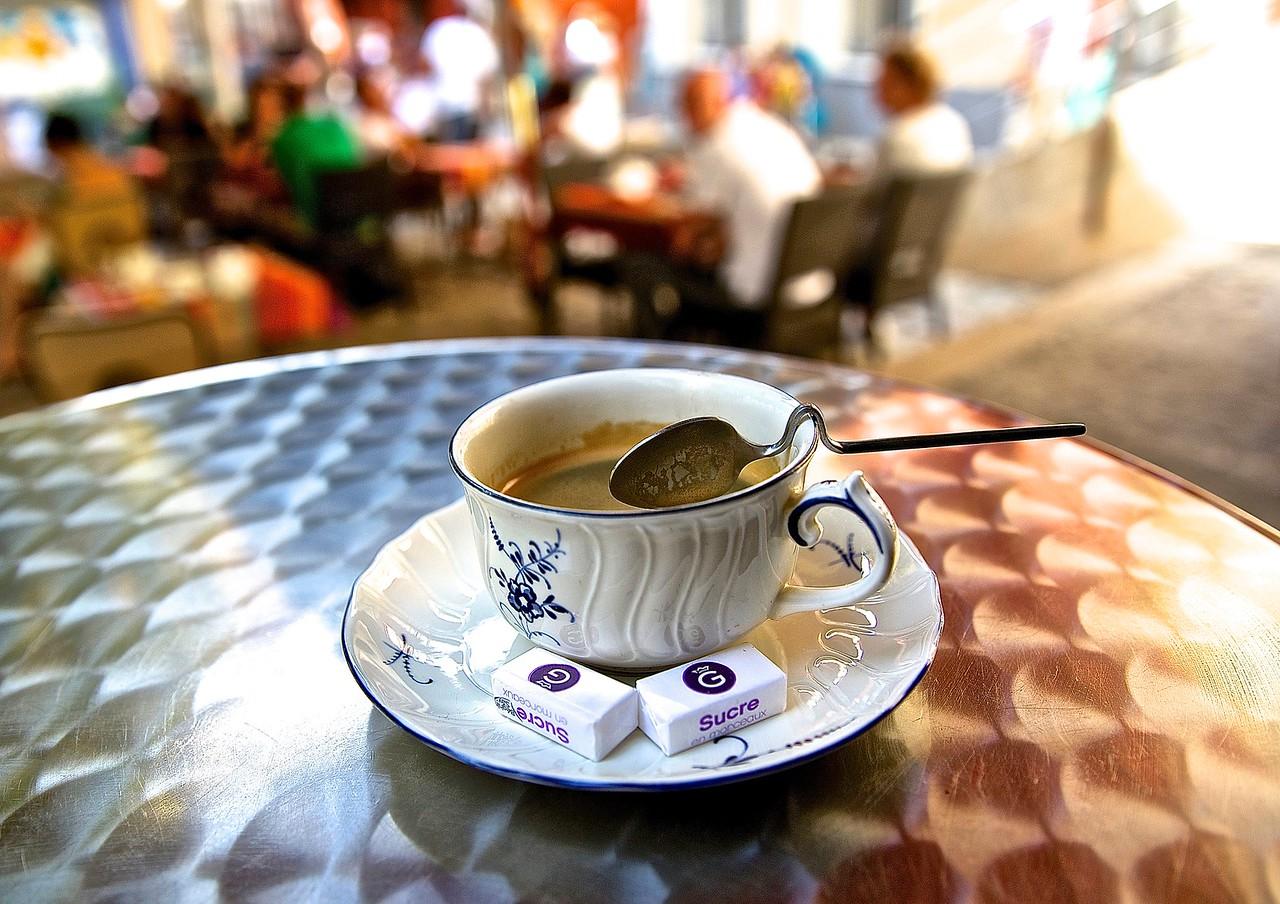 Cafe. Perpignan.