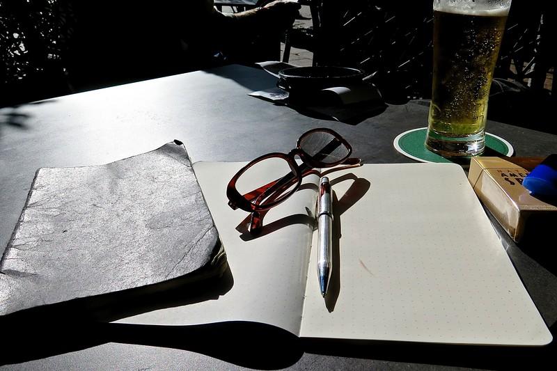 The Writer. Paris.