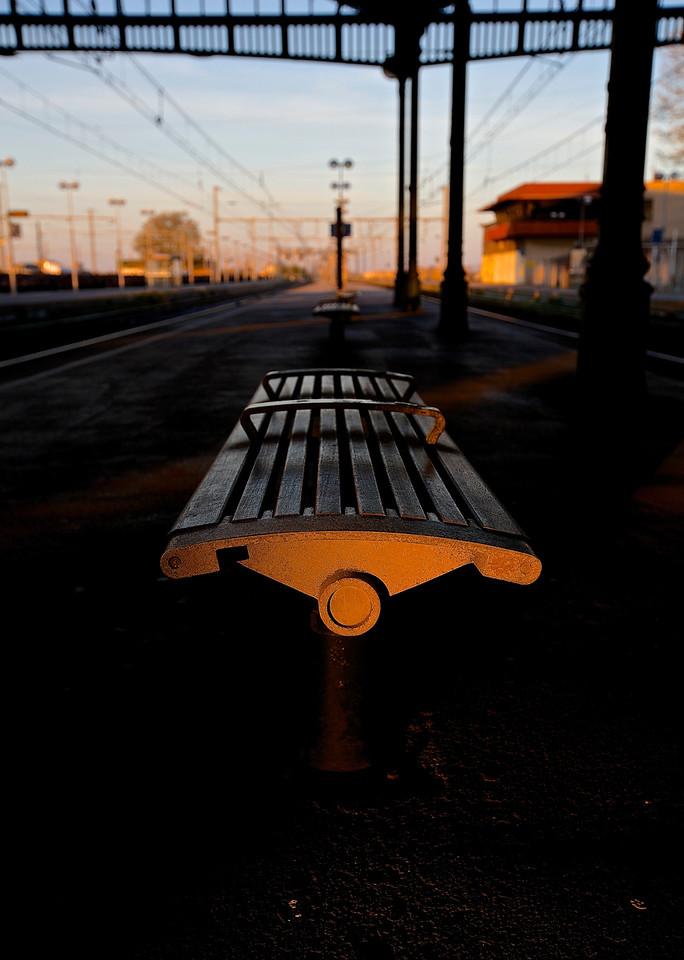 Train Station.  Sete, France.