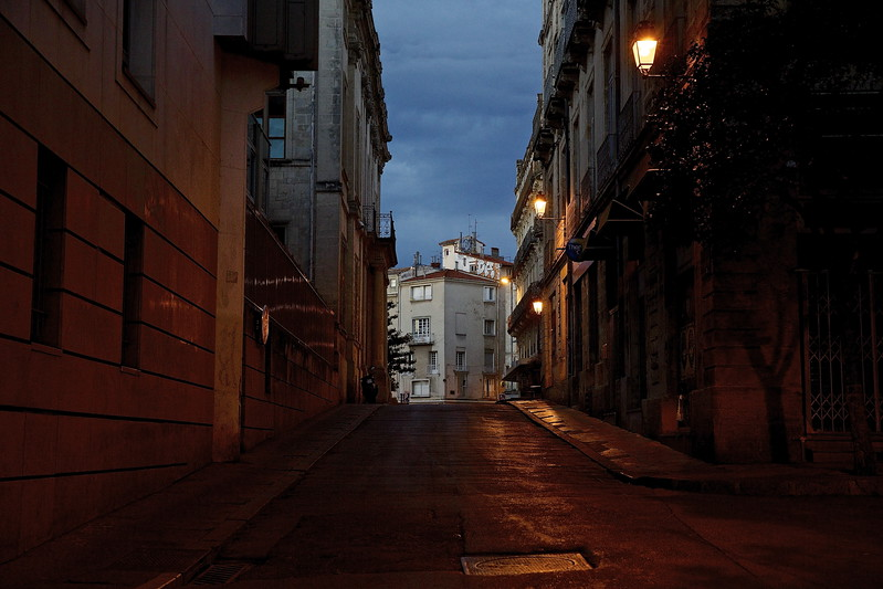 Silent Morning. Montpellier, France.