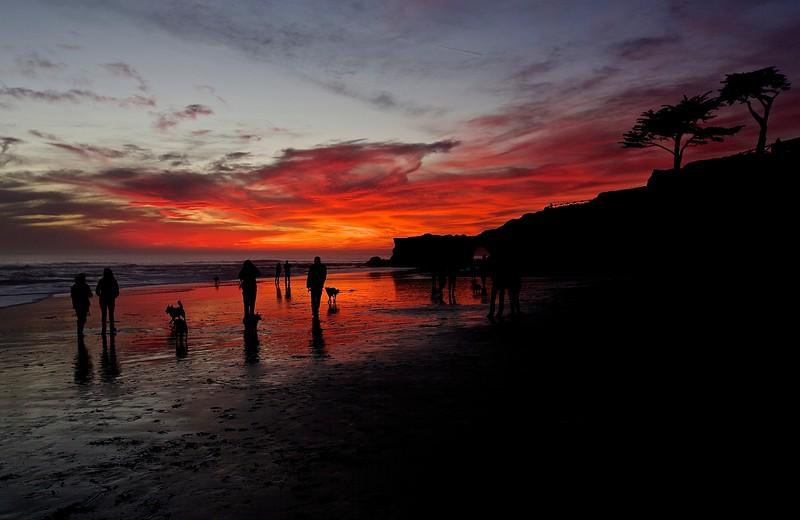 Santa Cruz Sunset.