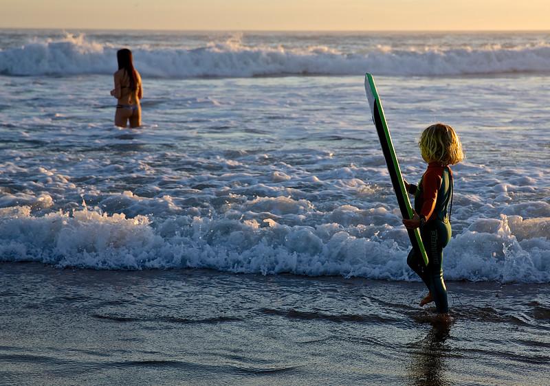 Growing Up.  Santa Cruz, California.