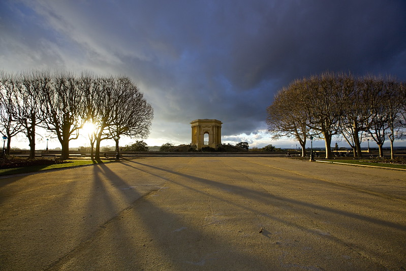 Peyrou. Montpellier, France