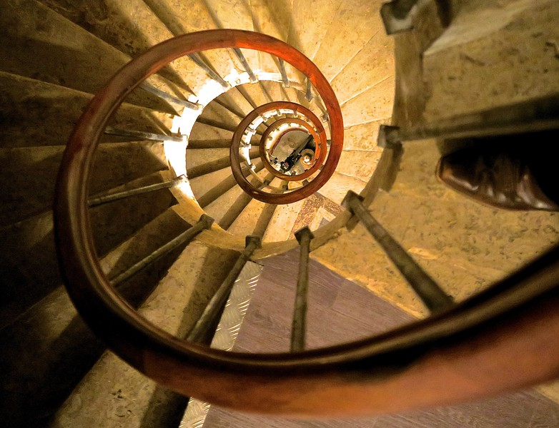 Staircase. Montpellier, France