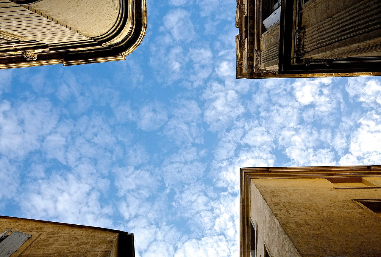 Clouds. Montpellier, France