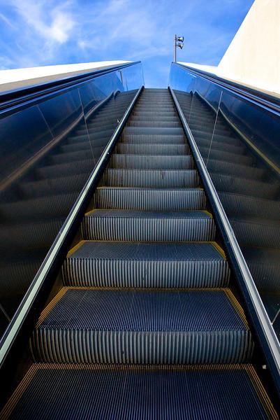 Heaven's Escalator.  Gare St. Roch, Montpellier, France.
