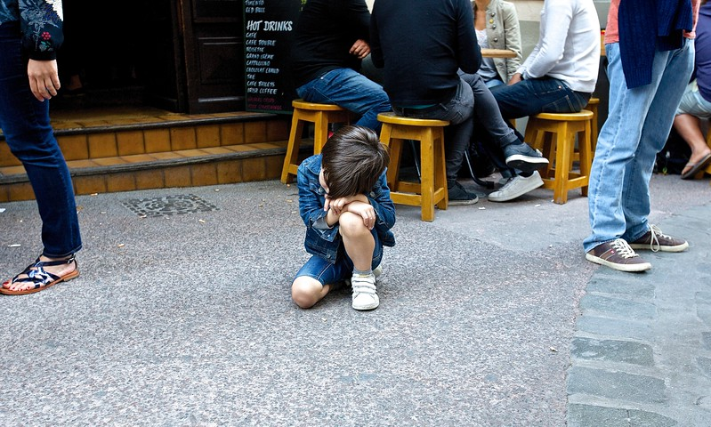Sorrowful Child. Montpellier, France.