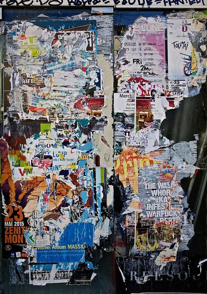 Poster Noise. Montpellier, France