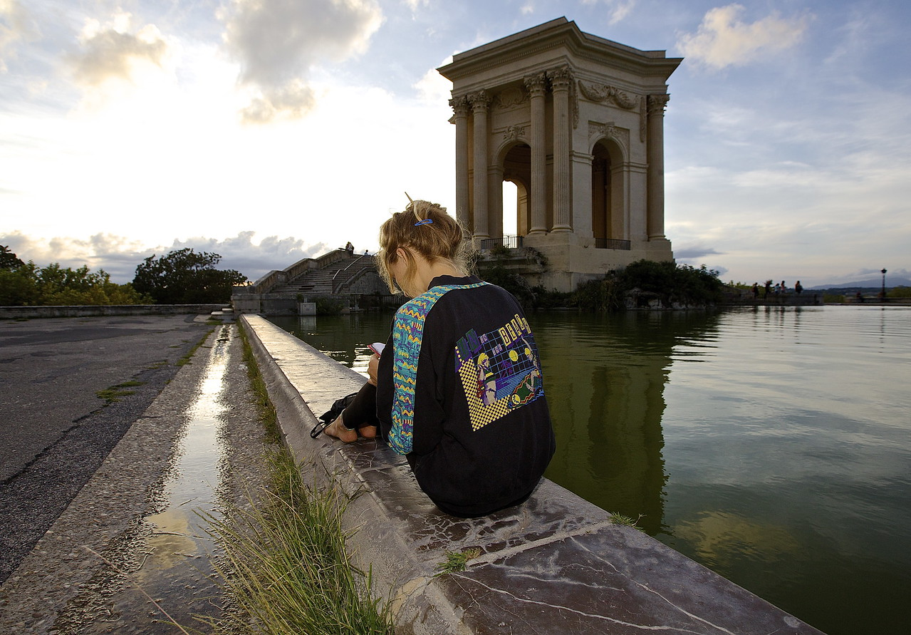 The Writer. Montpellier, France