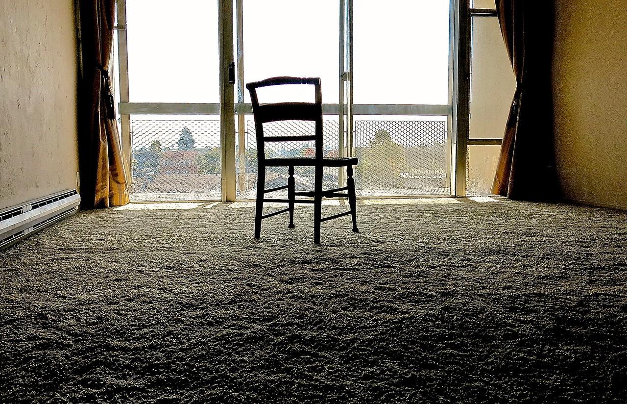 It's A Start. Empty Room.