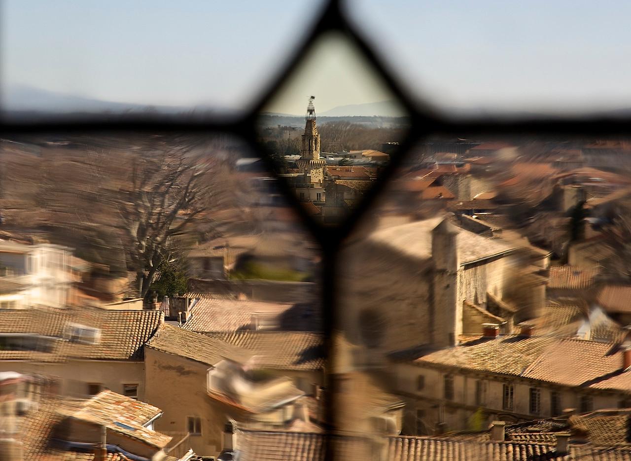 Avignon Cityscape.  Avignon, France.