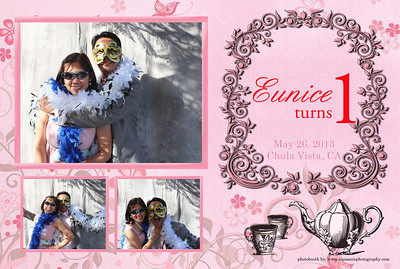Eunice turns ONE Photobooth PRINTS ONLY
