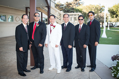 Lynn and Allan - Allan and Groomsmen