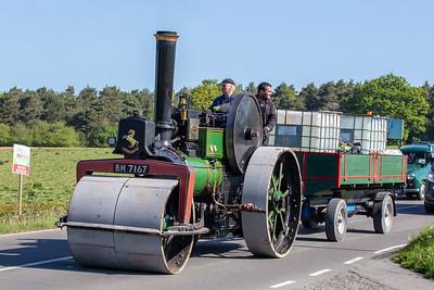 1919 Aveling & Porter Road Roller
